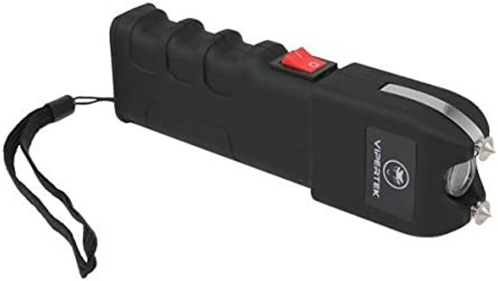 VIPERTEK VTS-989-1 Billion Heavy Duty Stun Gun - Rechargeable with LED Flashlight