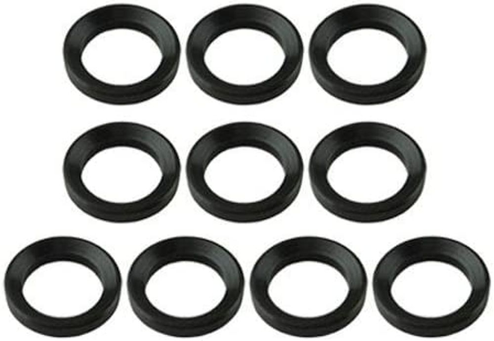 """TACFUN 1/2""""x28 Thread Steel Crush Washer (pack of 10) for .223"""