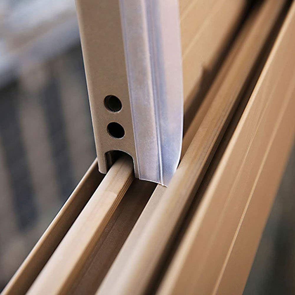 Zengest Door Strip Bottom, House and Glass Shower Door Seal Strip for Side of Door(Transparent), 16.4 Foot