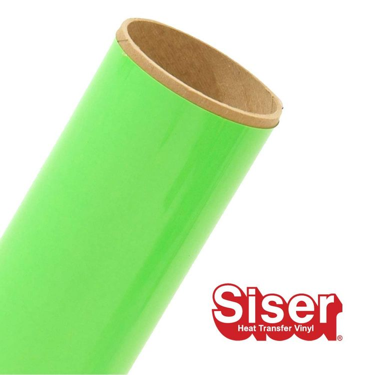 """Siser EasyWeed 11.8"""" x 5yd Roll (Fluorescent Green)"""