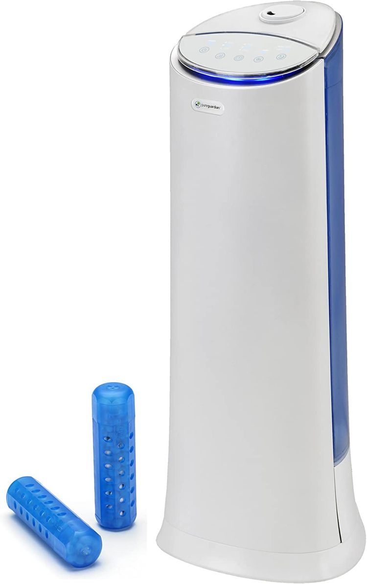 PureGuardian GGHS15 Aquastick Antimicrobial Humidifier Treatment, Pure Guardian humidifiers and All Brands, Reduces Mold and Odor causing bacteria in Ultrasonic and Evaporative humidifier water tanks