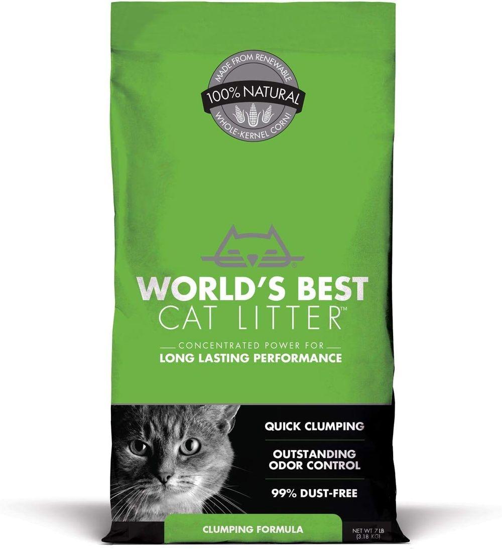 World's Best Cat Litter, Clumping Formula
