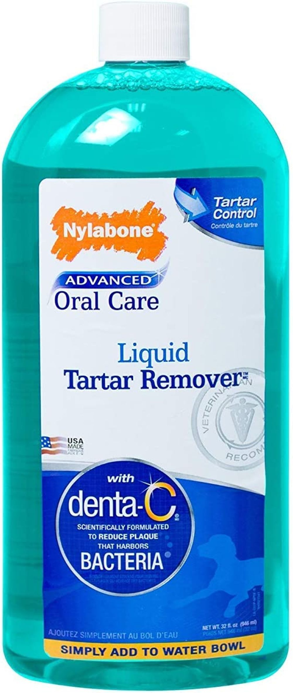 Nylabone Advanced Oral Care Liquid Tartar Remover