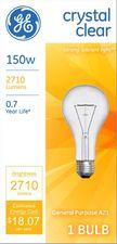 GE Lighting 16068 150-Watt A21 Crystal Clear
