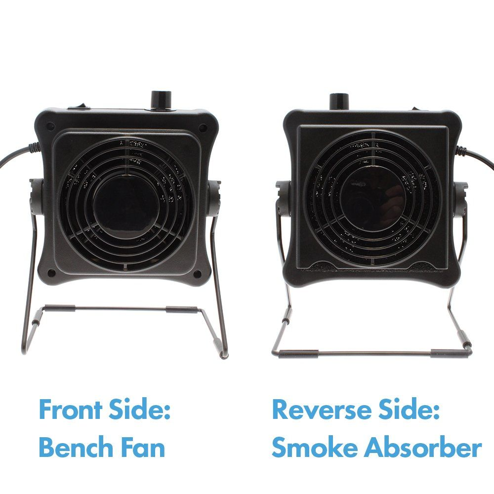 Aven-17015 Dual Function Bench Fan and Smoke Absorber