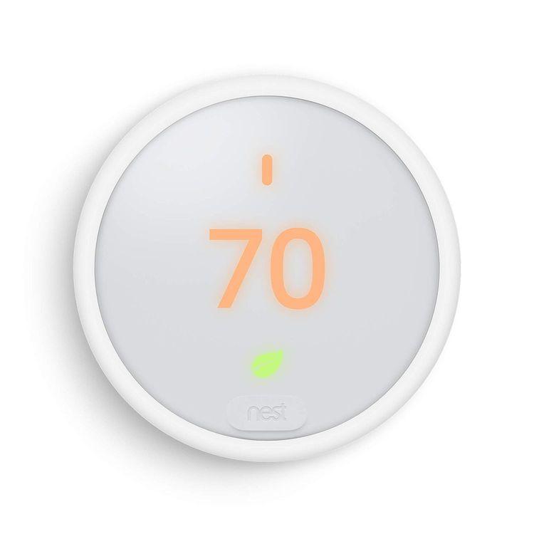 Google, T4000ES, Nest Thermostat E, Smart Thermostat, White
