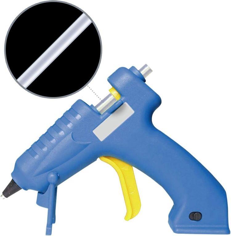 "Mini Hot Glue Gun Sticks (Huge Bulk Pack of 190) 4"" and 0.27 Diameter - Compatible with Most Glue Guns (190 PCS)"