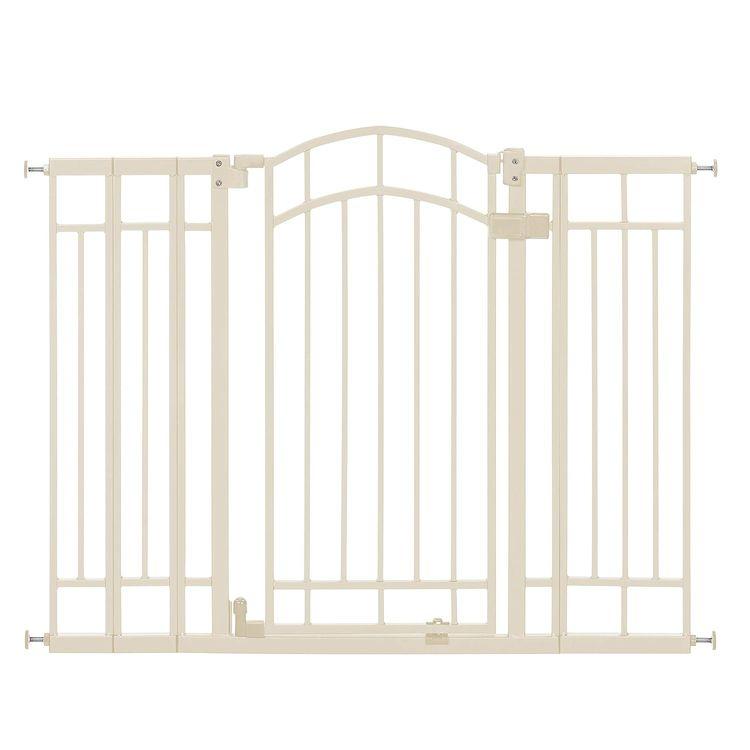 Summer Infant Multi-Use Deco Extra Tall Walk-Thru Gate, Beige (28.5 - 48 Inch)