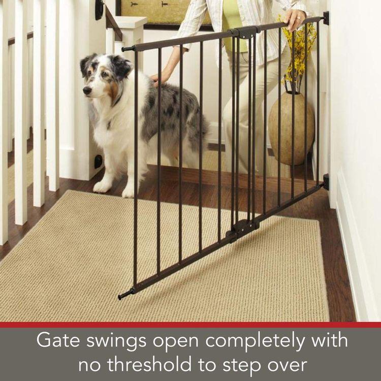North States Easy Swing & Lock Pet Gate