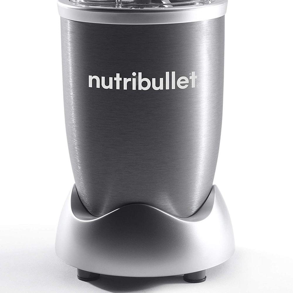 NutriBullet NBR-1201 12-Piece High-Speed Blender/Mixer System, Gray (600 Watts)