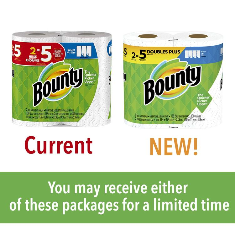 Bounty Select-A-Size, 8 Rolls (Packaging May Vary)