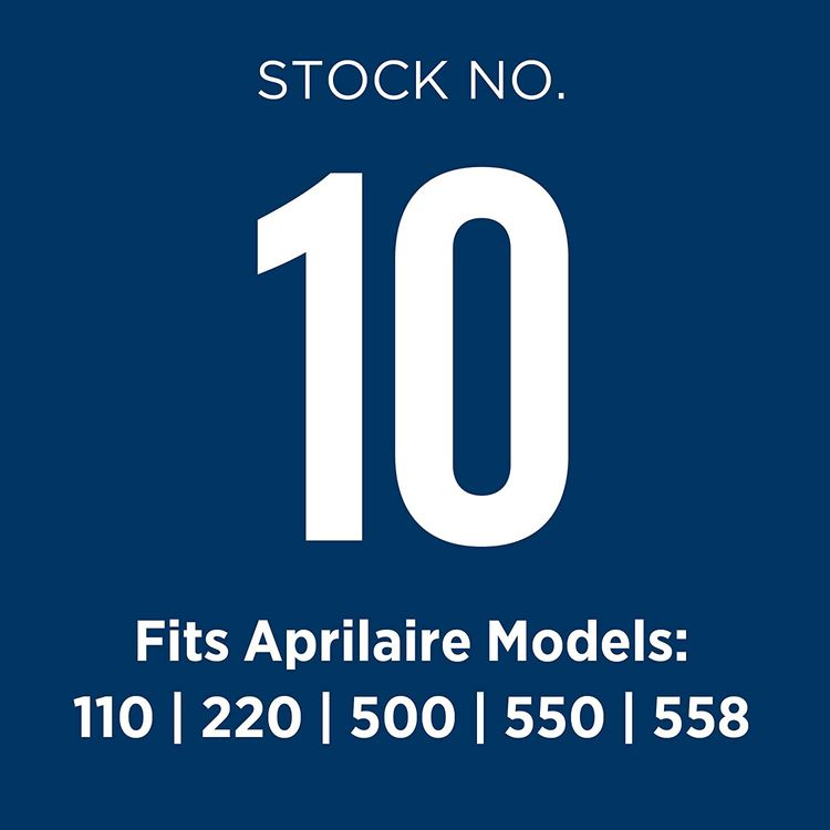 Aprilaire 10 Replacement Water Panel for Aprilaire Whole House Humidifier Models 110, 220, 500, 500A, 500M, 550, 558 (Pack of 1)