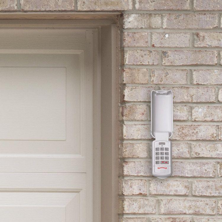 Overhead Door - Wireless Garage Door Opener Keypad - Weather-Resistant - OKP-BX - White,1 Pack