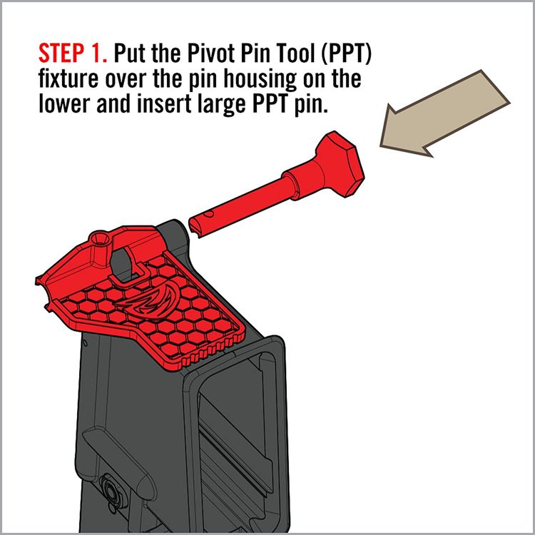 Real Avid .223 Pivot Pin Tool