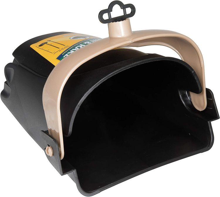Petmate 71034 Arm & Hammer Swivel Bin & Rake Pooper Scooper, Scented Bags Included, One Size, Black/Penny
