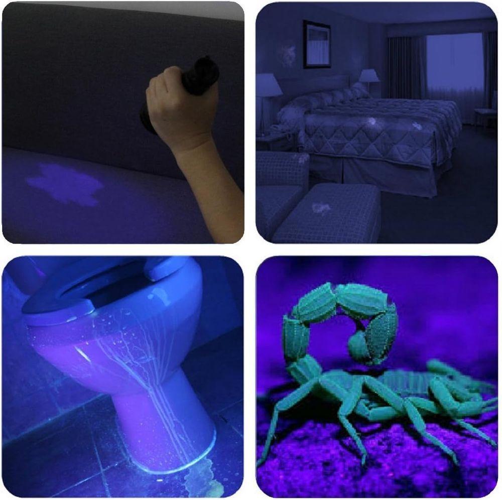 UV Flashlight Black light UV Lights , Vansky 51 LED Blacklight Pet Urine Detector For Dog/Cat Urine,Dry Stains,Bed Bug, Matching with Pet Odor Eliminator