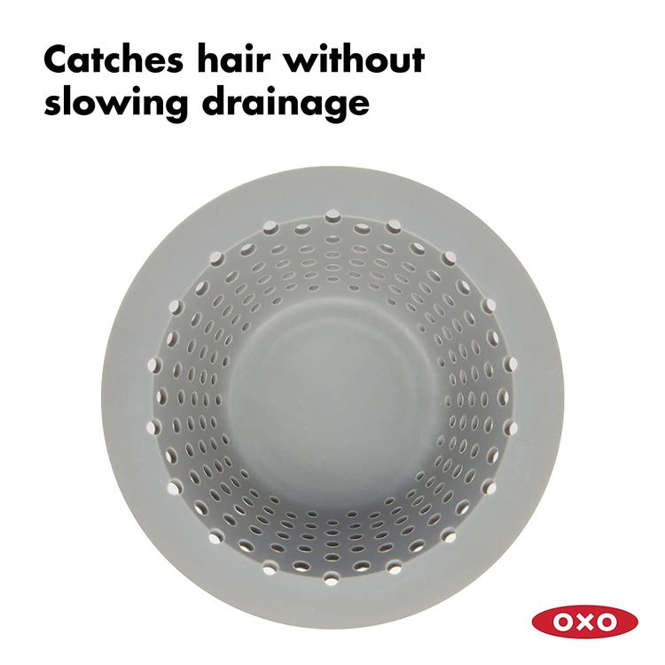 OXO Good Grips Silicone Drain Protector for Pop-Up & Regular Drains