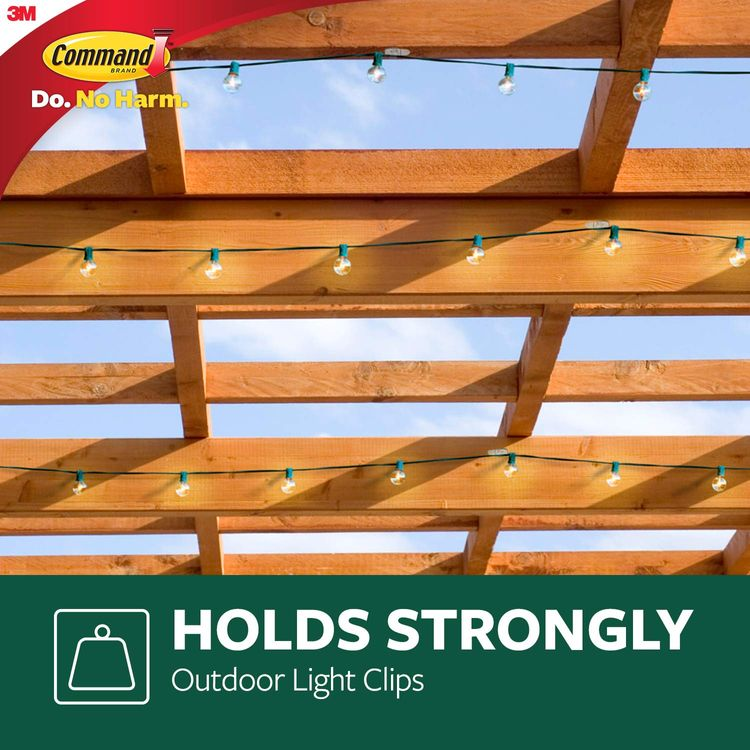 Command Outdoor Light Clips (32 Clips)