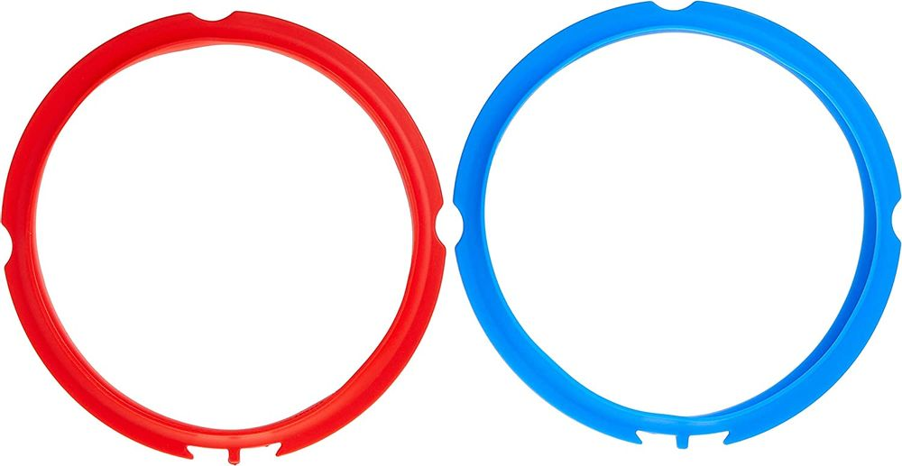 Instant Pot Sealing Rings 2 Pack : Mini 3 Quart Red/Blue