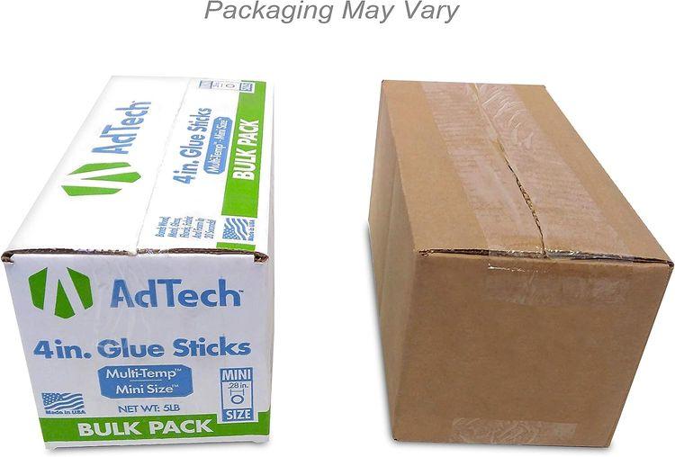 """AdTech 220-345-5 Hot Glue Sticks, 5 lb/4"""" Mini Size"""