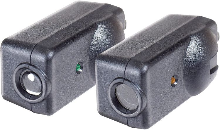 Chamberlain / LiftMaster / Craftsman Garage Door Opener Replacement Safety Sensors G801CB-P, Includes 2 Sensors, Mounting Brackets and Hardware