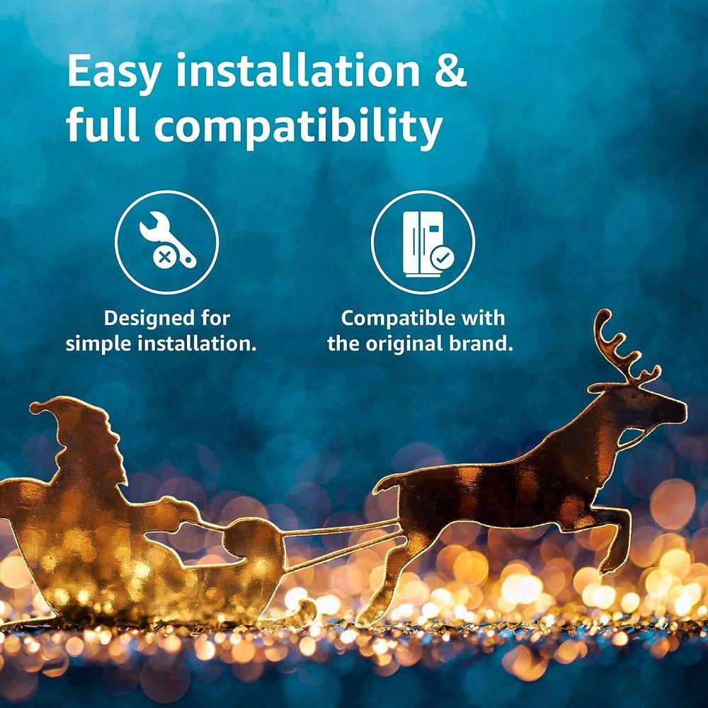 Waterdrop NSF 53&42 Certified DA29-00020B Refrigerator Water Filter, Compatible with Samsung DA29-00020B, DA29-00020A, HAF-CIN/EXP, 46-9101, Advanced, Pack of 3
