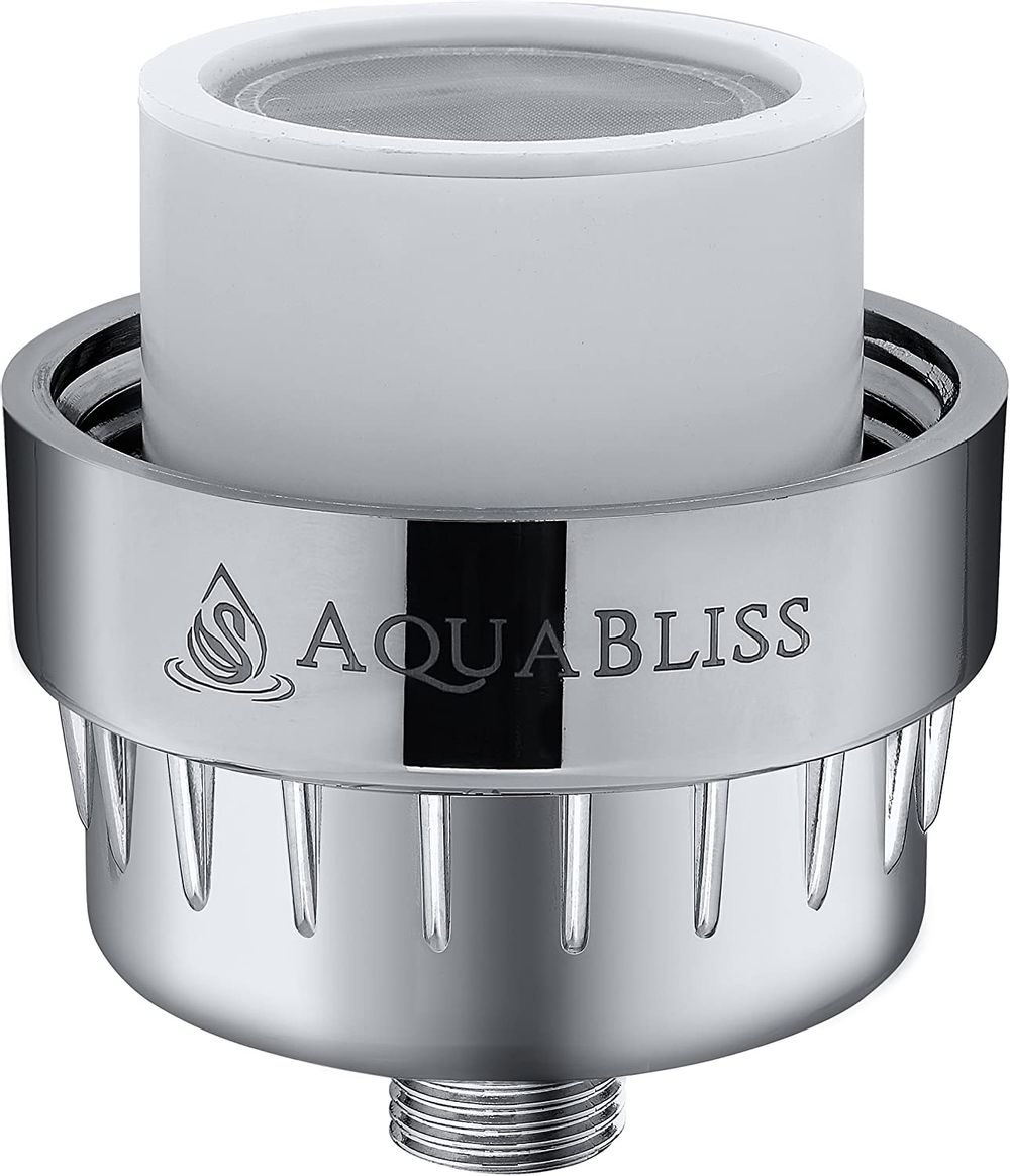 AquaBliss Replacement Multi-Stage Shower Filter Cartridge - Longest Lasting High Output Universal Shower Filter Blocks Chlorine & Toxins in SF220 AquaHomeGroup CaptainEco Aqua Earth (SFC220)