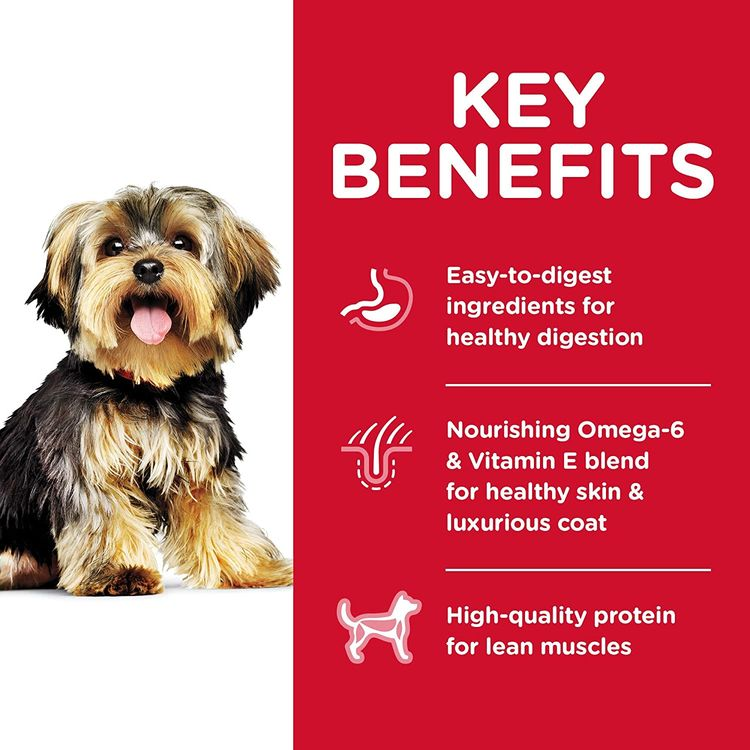 Hill's Science Diet Dry Dog Food, Adult, Small Paws for Small Breed Dogs