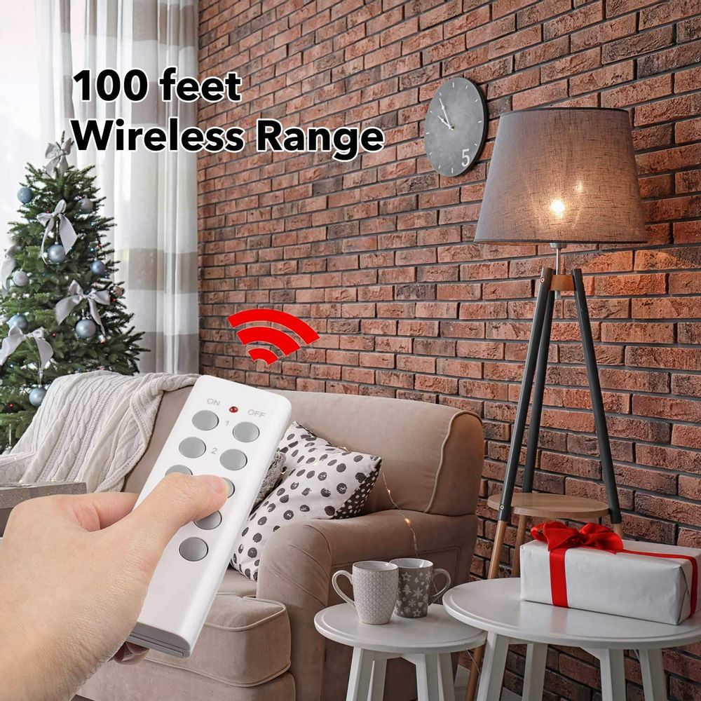 BN-LINK ES1513-5-2 Wireless Remote Control Outlet with Extra Long Range (5 Pack)