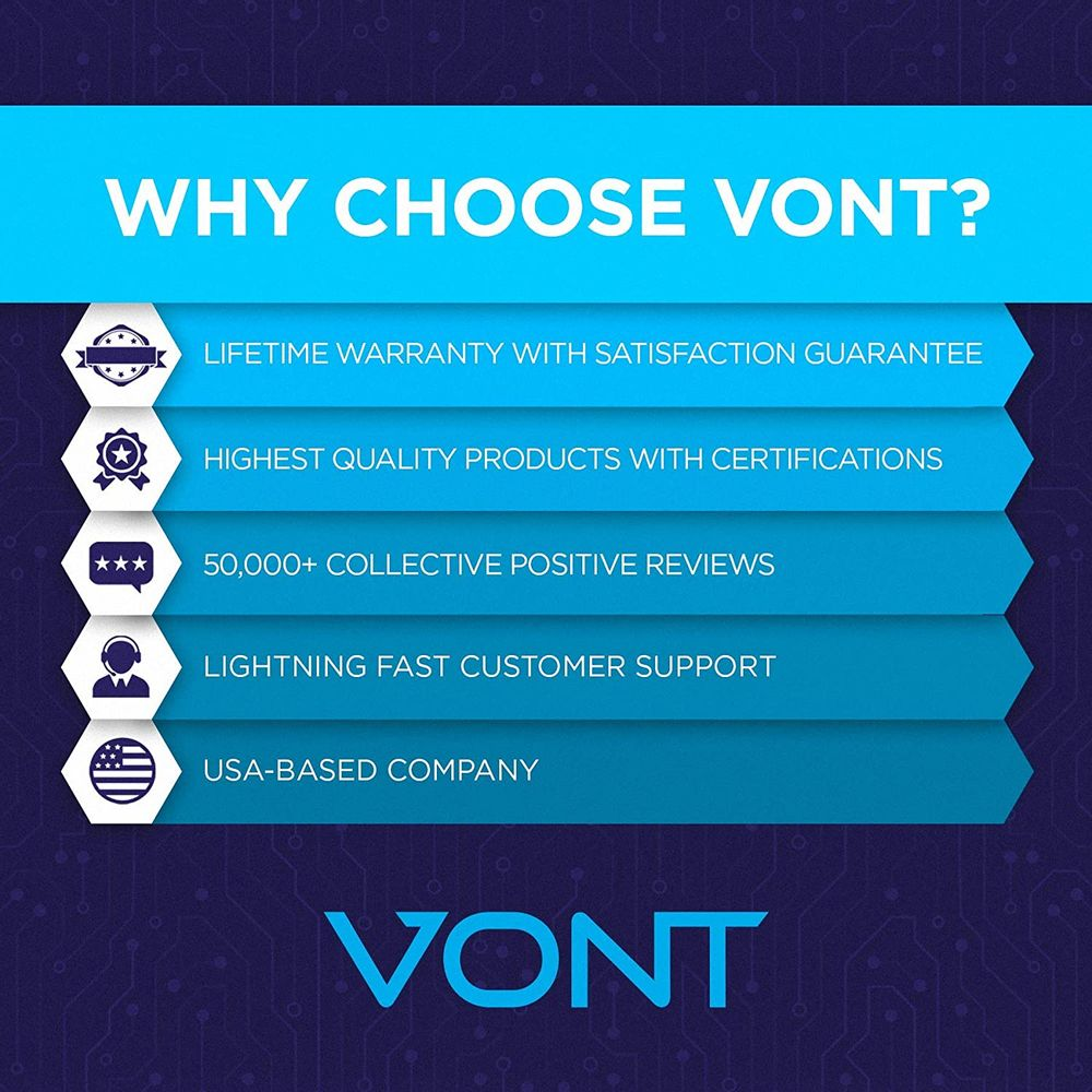 Vont LED Night Light (Plug-in), Smart Dusk to Dawn Sensor, Automatic Night Lights, Suitable for Bedroom, Bathroom, Toilet,Stairs,Kitchen,Hallway,Kids,Adults,Compact Nightlight, Energy, Cool White (6)