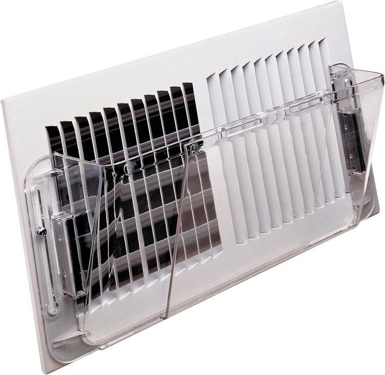 """Deflecto Adjustable Wall Air Deflector, 10"""" x 16"""" (51)"""