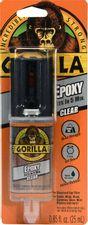 Gorilla 2 Part Epoxy, 5 Minute Set, .85 ounce Syringe, Clear