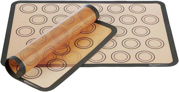 Basics Silicone Macaron Baking Mat, 2-Pack