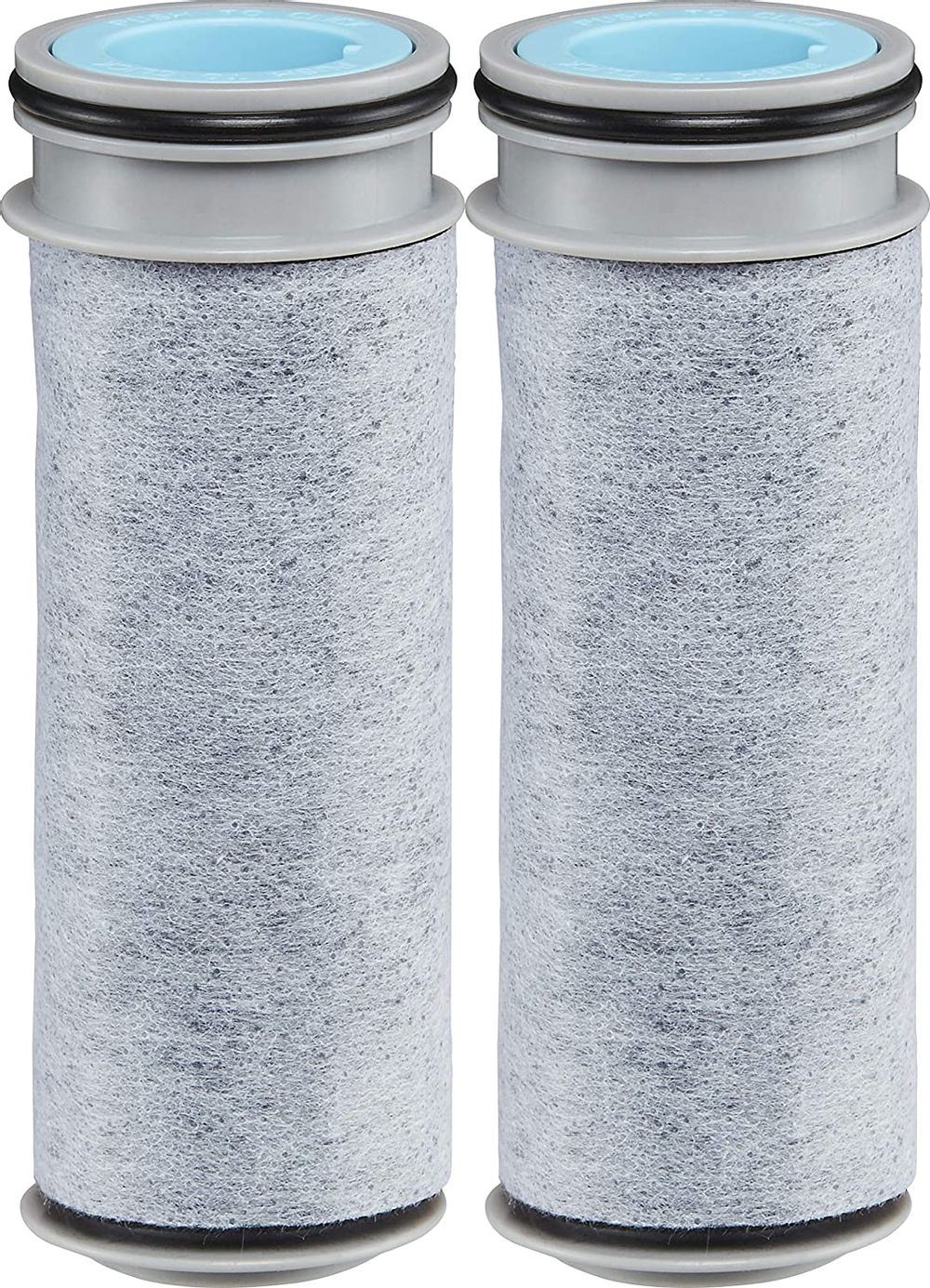 Brita Stream Replacement Filters, 2 Count, Gray