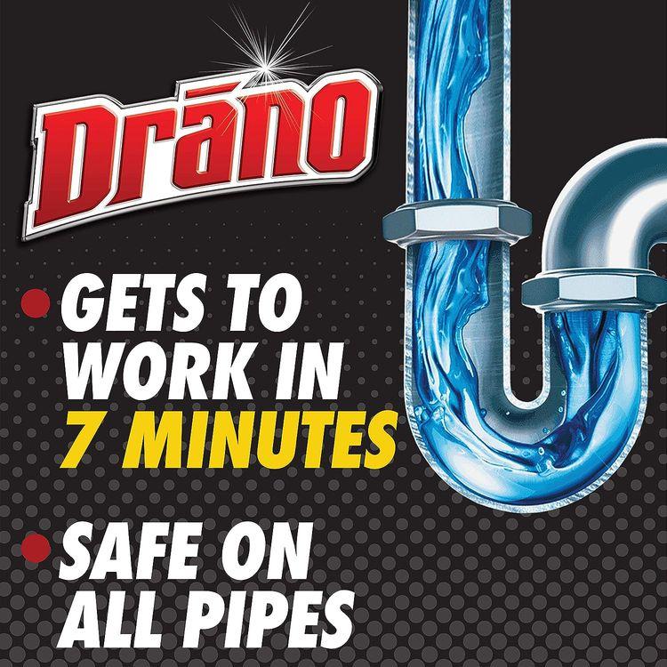 Drano Max Gel Liquid Clog Remover 80 oz