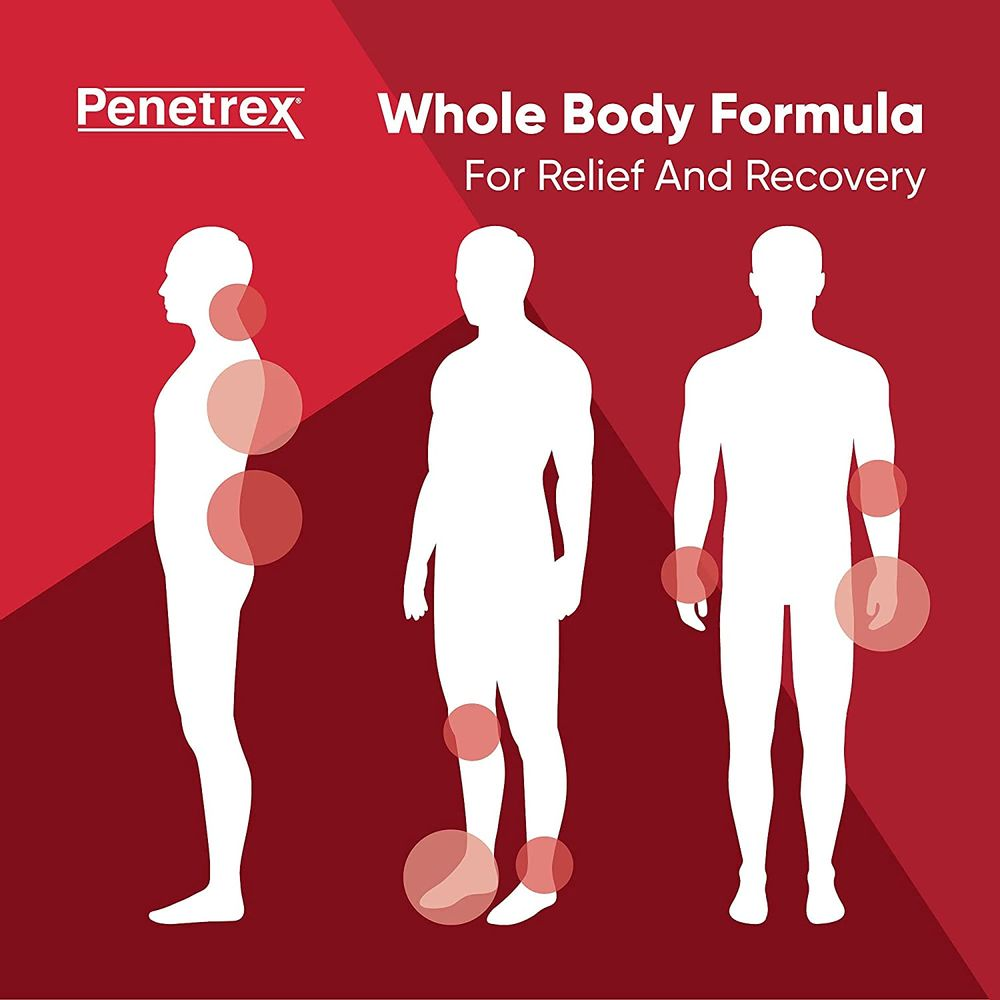 Penetrex Joint & Muscle Therapy, 2 Oz Cream – Intensive Concentrate for Relief & Recovery – Whole-Body Formulation with Arnica, Vitamin B6 & MSM (DMSO2) for Your Back, Neck, Knee, Hand, Shoulder, Feet