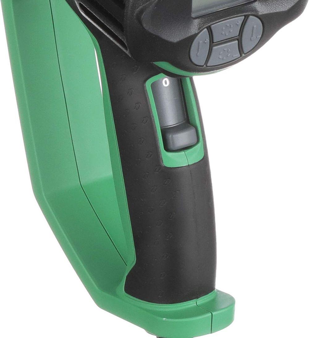 Metabo HPT Heat Gun, Variable Heat & Fan Settings, LCD Display, Includes Glass Protector Nozzle, Spreader Nozzle, Hook Nozzle, Concentrator Nozzle, Handheld Scraper, Storage Case (RH650V)