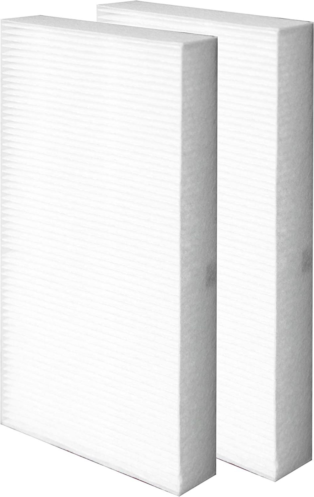 Flintar 2-Pack of Dual Action H13 Grade True HEPA Replacement Filter U, Compatible with Honeywell HEPAClean Replacement U Filter HRF201B, Fits HW Air Purifier HHT270, HHT290 Series