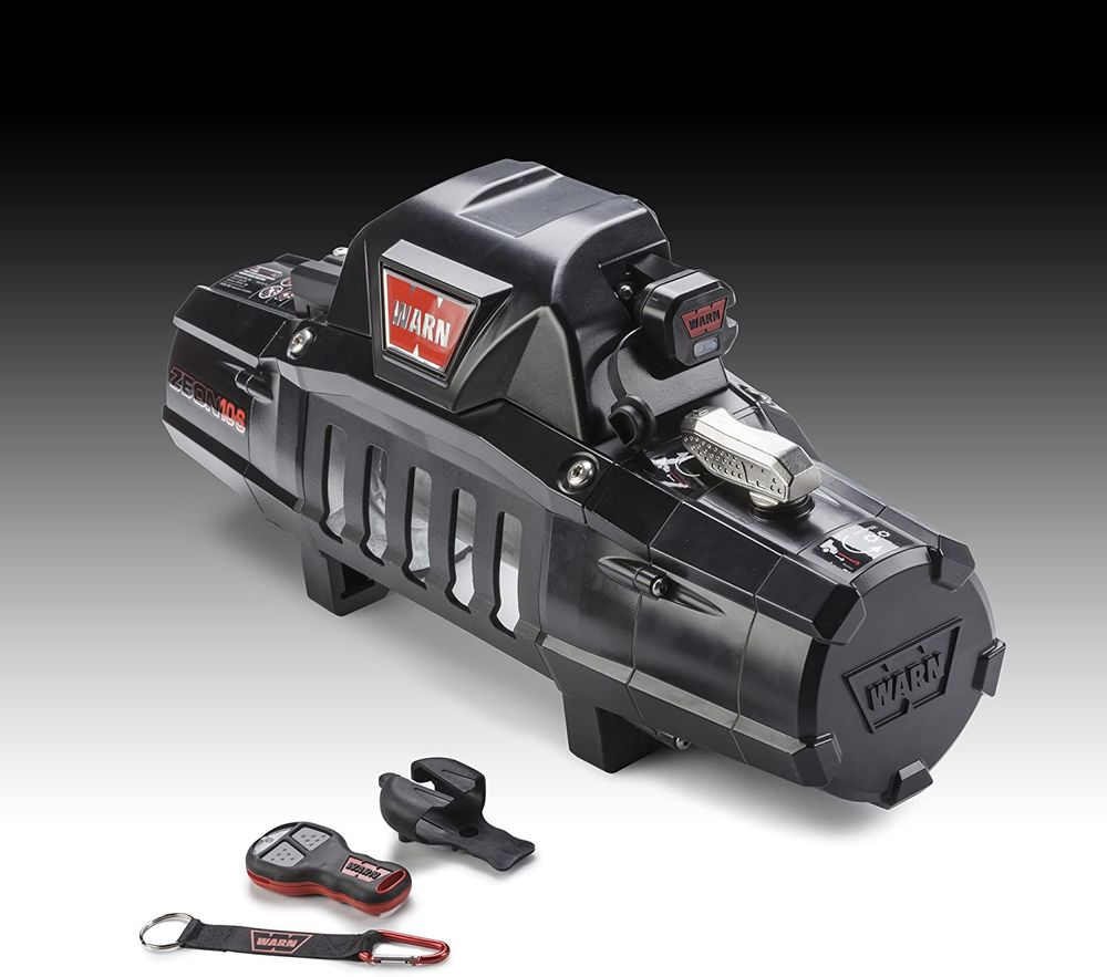 WARN 90287 Winch Component Accessory: Wireless Remote Control System for Truck and SUV Winches with 5 Wire Electrical System