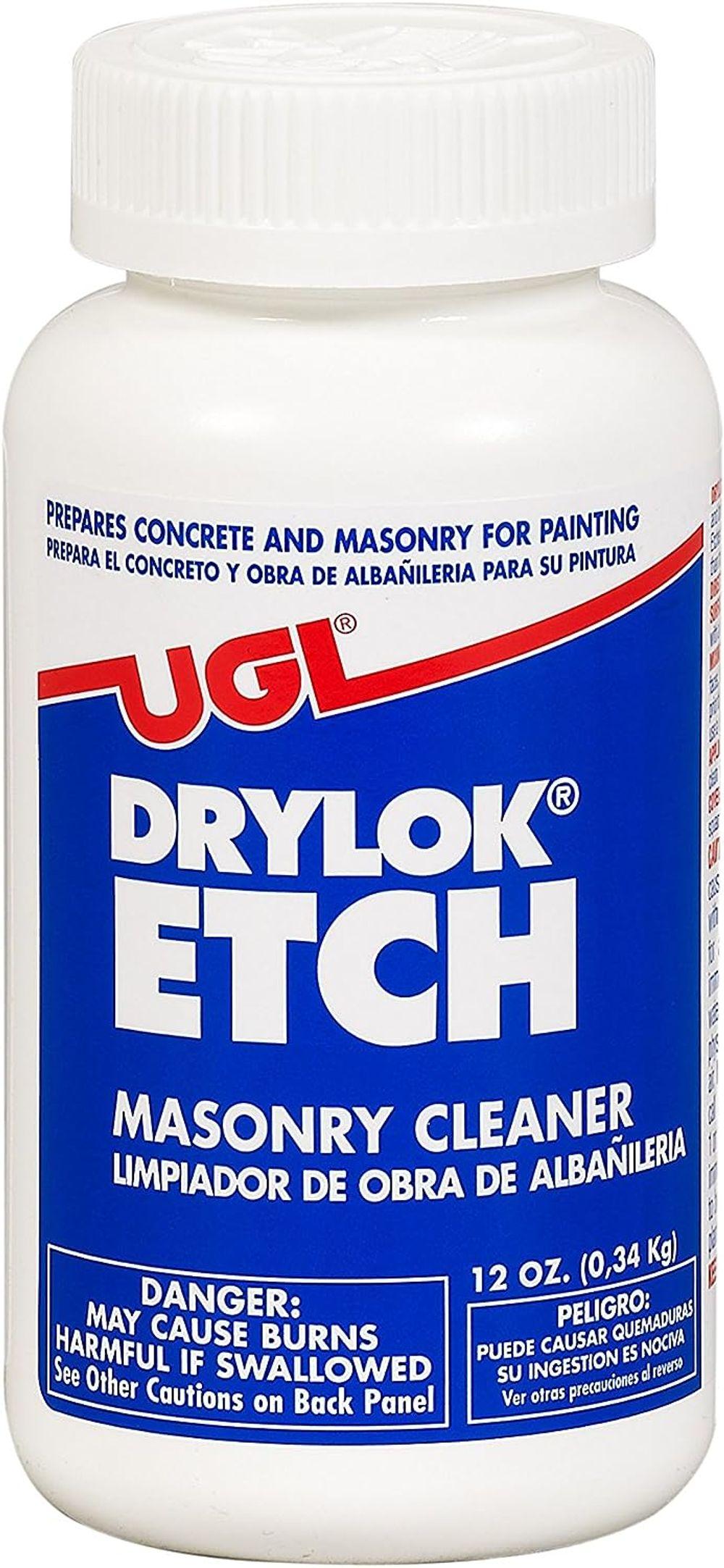 DRYLOK 01908 Masonry Etch, 12-Ounce, White