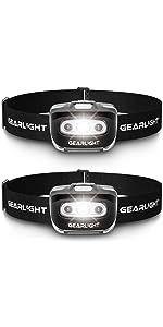 S500 LED Headlamp Flashlight