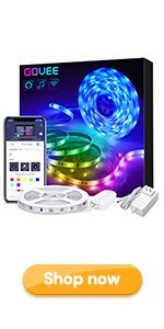 alexa led strip lights google home wifi wirelss smart light strip app control RGB led lights 16.4ft