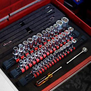 Rail organizer set