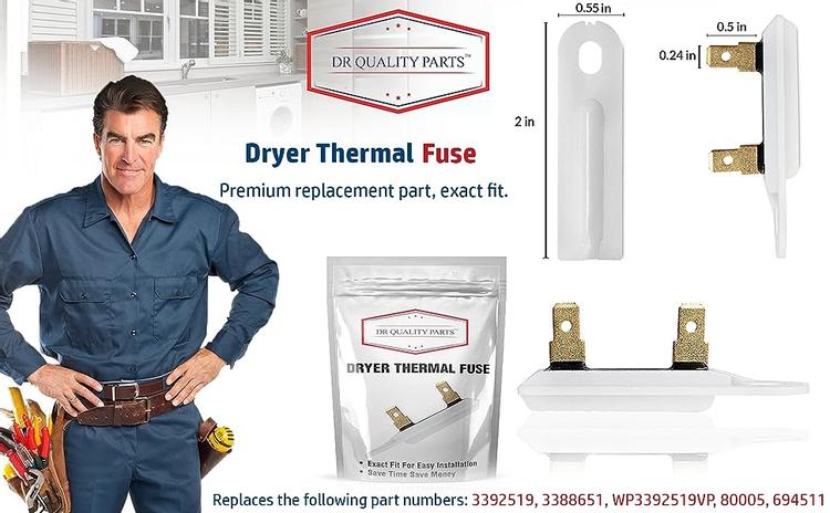 3392519 dryer fuse clothes