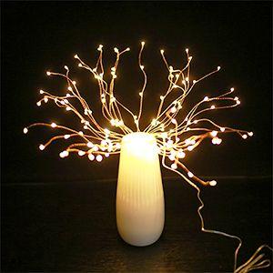 copper wire firework lights