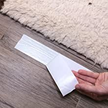 Safe for delicate flooring materials