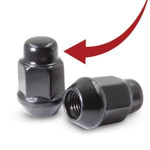 Closed End Bulge Acorn Lug Nut Product Details 2pc Design