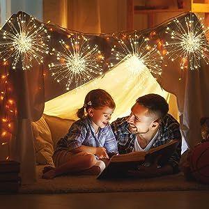 starburst fairy lights