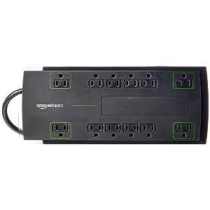 AmazonBasics 12-Outlet Surge Protector