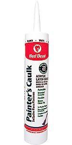 Red Devil 074612 Painters Caulk White